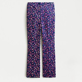 J. Crew Kickout cord pant in dotted floral