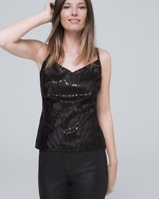Sequin Embroidered Camisole