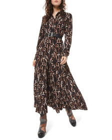 Michael Kors Collection Dancer-Print Crushed Georg