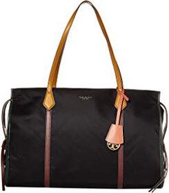 Tory Burch Perry Nylon Color-Block Tote