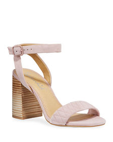 Splendid Seymore Quilted Suede Sandals
