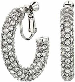 Vince Camuto 33 mm Jewelry Covered Clip Hoops Earr