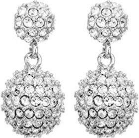 Vince Camuto Jewel Covered Fireball Double Drop Po