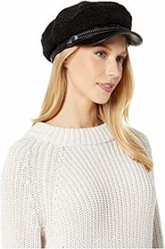 UGG Leather and Sherpa Baker Hat