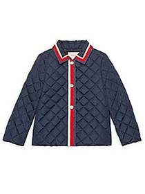 Gucci Little Girl's & Girl's Sylvie Web Quilted Ny