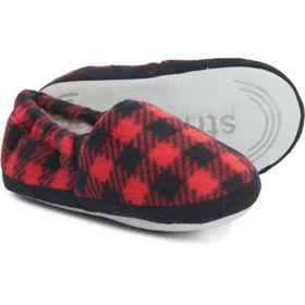 Stride Rite Buffalo Plaid Slippers (For Boys) in R