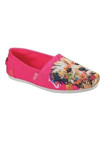 Women's Skechers BOBS Plush Paw-Fection Winky Alpa