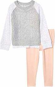 Splendid Littles Sweater Knit Fleece Top Set (Todd