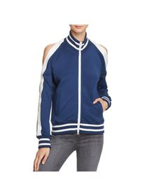 Pam & Gela Womens Fitness Workout Track Jacket