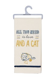 Primitives by Kathy Love & A Cat Dish Towel