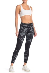 90 Degree By Reflex Etched Camo Leggings