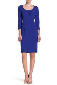 TASH + SOPHIE Square Neck Bodycon Dress