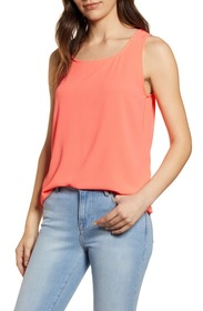 Loveappella Easy Scoop Neck Tank Top