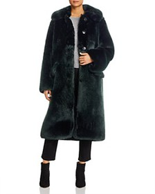 Tory Burch - Long Faux Fur Coat