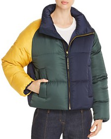 Tory Burch - Reversible Color-Blocked Down Jacket