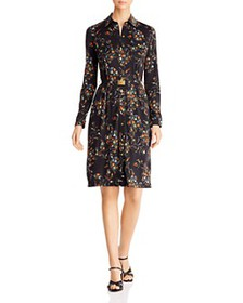 Tory Burch - Floral-Printed Shirt Dress