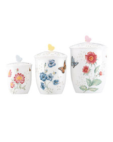 Lenox Butterfly Meadow Canisters Set of 3