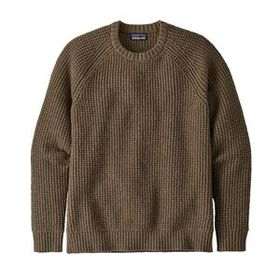 M's Recycled Wool Waffle Knit Sweater, Bristle Bro