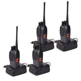 Ktaxon 6 Piece Baofeng BF-888S Long Range Walkie T