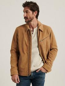 Lucky Brand Suede Riding Jacket