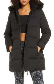 Sweaty Betty North Pole Quilted Hooded Parka with