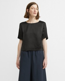 Hammered Viscose Easy Woven Tee
