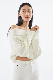 UO Carrie Off-The-Shoulder Sweater
