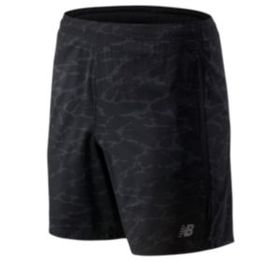 New balance Men's Printed Accelerate 7 In Short