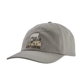 Eat Local Goat Trad Cap, Drifter Grey (DFTG)