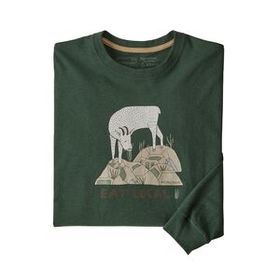 M's Long-Sleeved Eat Local Goat Responsibili-Tee®,