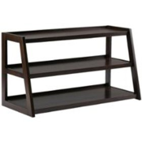 Simpli Home - Sawhorse TV Stand for Most TVs Up to