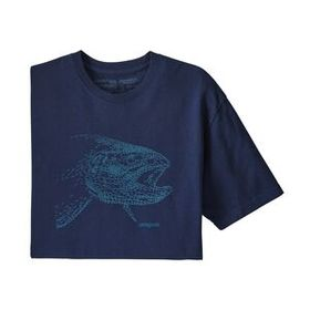 M's Hooked Head Responsibili-Tee®, Classic Navy w/