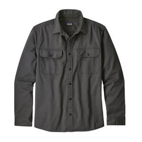 M's Long-Sleeved Four Canyons Twill Shirt, Forge G