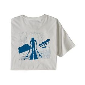 M's Breaking Trail Organic T-Shirt, White (WHI)