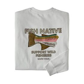 M's Long-Sleeved Native World Trout Responsibili-T