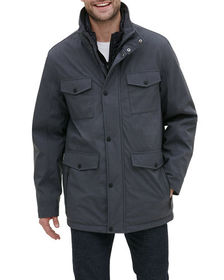 Kenneth Cole New York Men's Jacket with Zip-Out Bi