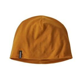 Overlook Merino Wool Liner Beanie, Hammonds Gold (