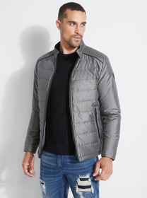 Houston Iridescent Quilted Jacket