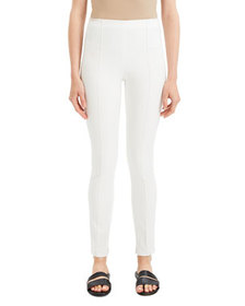 Theory Skinny Double-Stretch Pull-On Leggings
