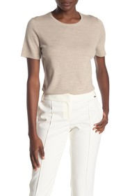 St. John Collection Jersey Wool Knit Top