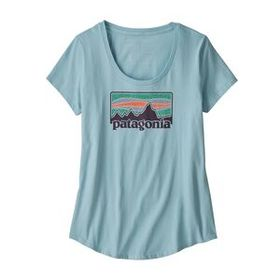 W's Solar Rays '73 Organic Scoop T-Shirt, Big Sky