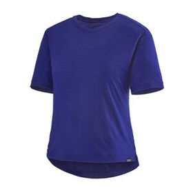 W's Short-Sleeved Merino Bike Jersey, Cobalt Blue