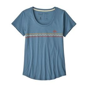 W's Flying Fish Line Up Organic Scoop T-Shirt, Woo