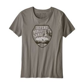 W's Defend Public Lands Organic Crew T-Shirt, Feat