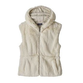 W's Lunar Frost Hooded Vest, Natural (NAT)