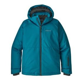 Boys' Snowshot Jacket, Balkan Blue w/Forge Grey (B