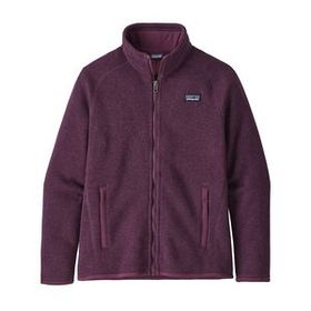 Girls' Better Sweater® Jacket, Deep Plum (DPM)