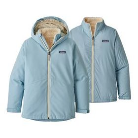 Girls' 4-in-1 Everyday Jacket, Big Sky Blue (BSBL)