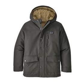 Boys' Infurno Jacket, Forge Grey w/El Cap Khaki (F