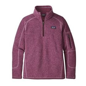 Girls' Better Sweater® 1/4-Zip, Verbena Purple (VE